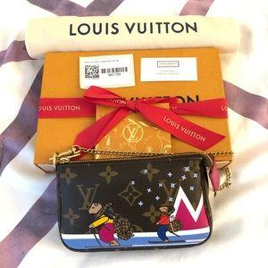💯 Authentic LV Mini Pochette Limited Edition.